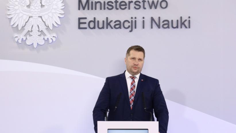 Konferencja ministra edukacji