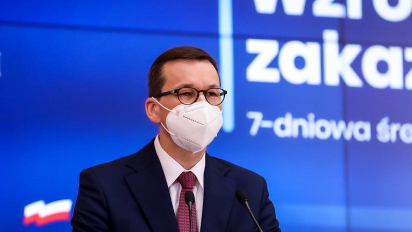 Konferencja premiera i ministra zdrowia ws. obostrzeń