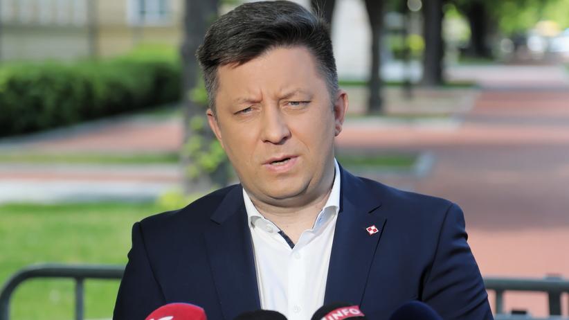 Konferencja Michała Dworczyka
