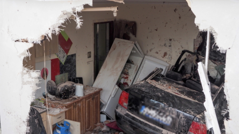 Miejsce wypadku w Konstantynowie Łódzkim
