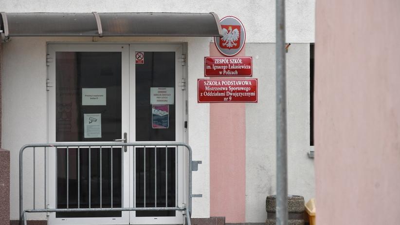 Koronawirus w szkole i internacie w Policach? Są wyniki testów