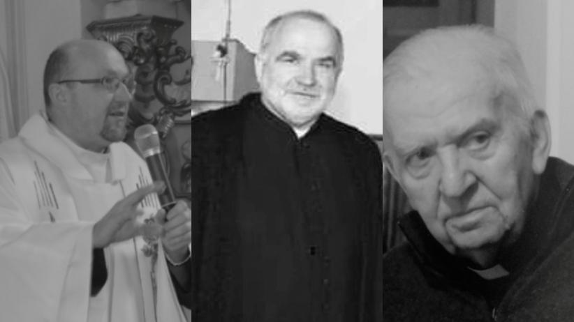 trzech księży zmarło na Covid