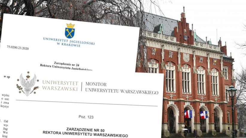 Koronawirus w Polsce. Uczelnie we Wrocławiu, Warszawie, Krakowie odwołują wykłady [UJ, UW, WUM]