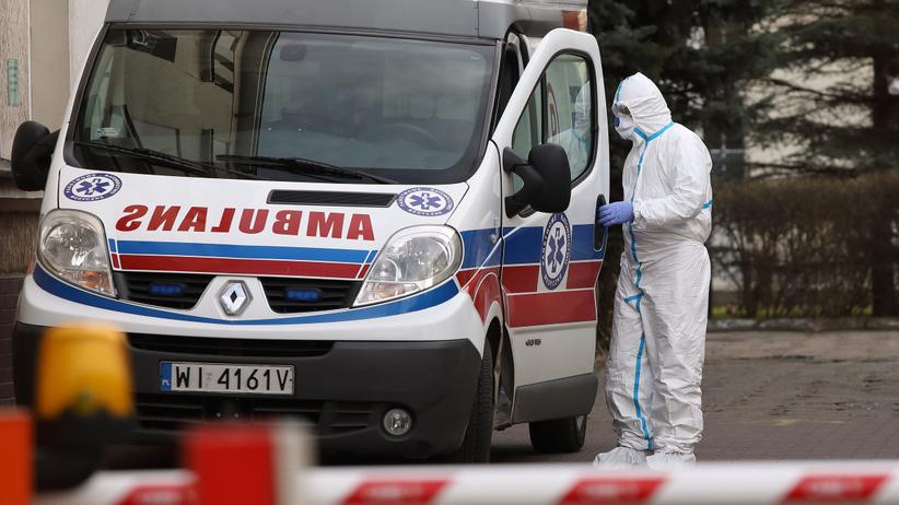 Koronawirus w Zgierzu. Pacjent, który uciekł ze szpitala jest zakażony Covid-19
