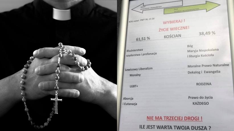 """Proboszcz ocenił wyborców Trzaskowskiego. """"Eutanazja, aborcja, profanacja"""""""