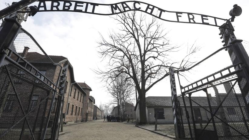 Cudzoziemcy rozebrali się przed byłym obozem w Auschwitz i zabili owcę. Odpowiedzą za znieważenie