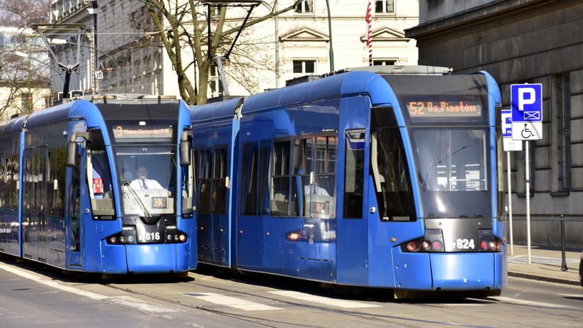 awantura w tramwaju w krakowie
