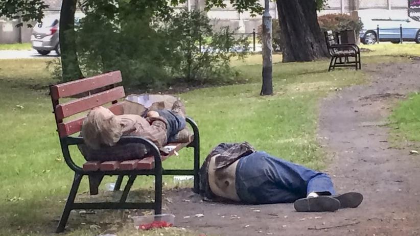 Kraków. Radny Wantuch chce pozbyć się bezdomnych z Plant
