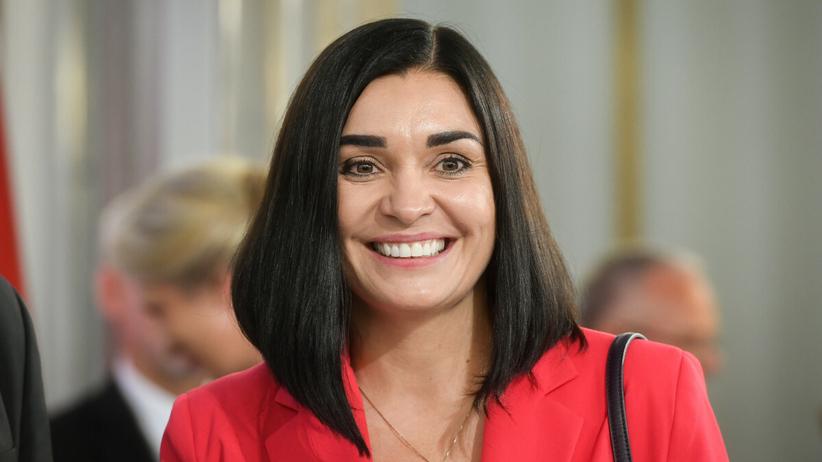 Magdalena Sroka, rzeczniczka Porozumienia