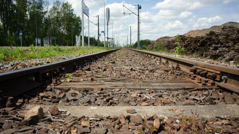 Libiąż potrącenie przez pociąg
