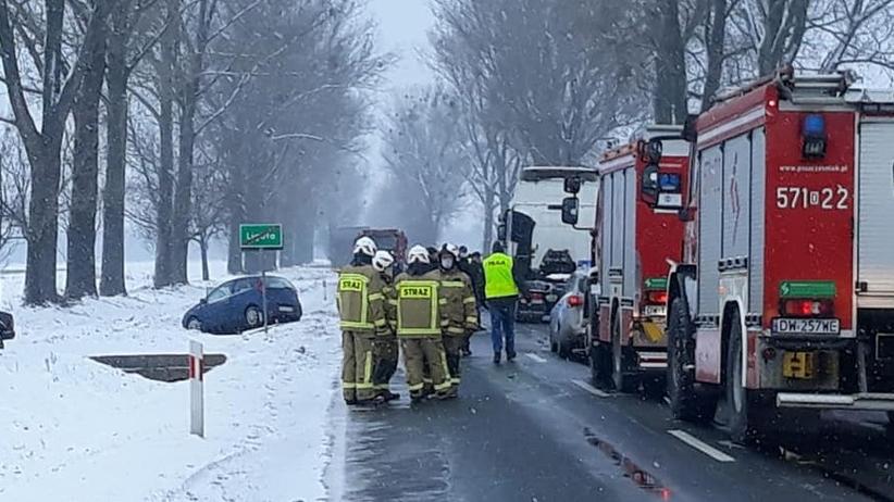Ligota, śmiertelny wypadek na DK15