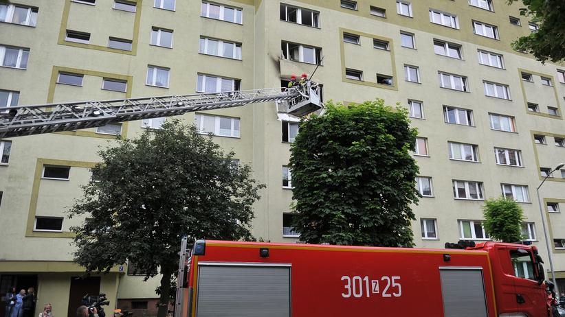 Pożar Łódź