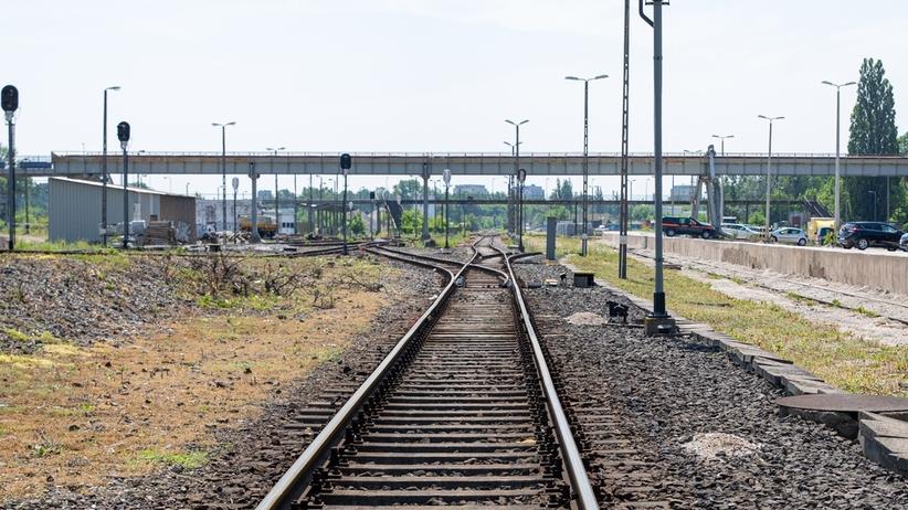 Łódź. Pociąg potrącił pieszego na odcinku Łódź Widzew - Łódź Dąbrowa