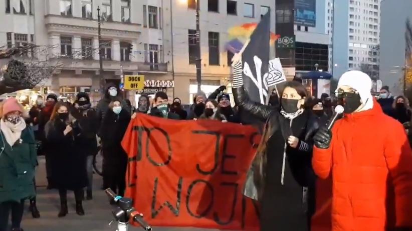Protest Łódź