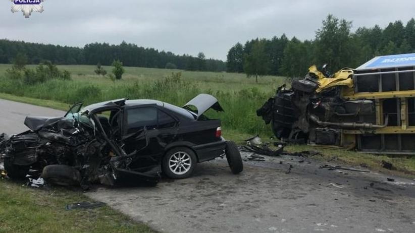 wypadek w miejscowości Siedliszcze