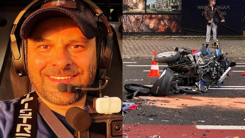 Marcin Borkowski miał wypadek