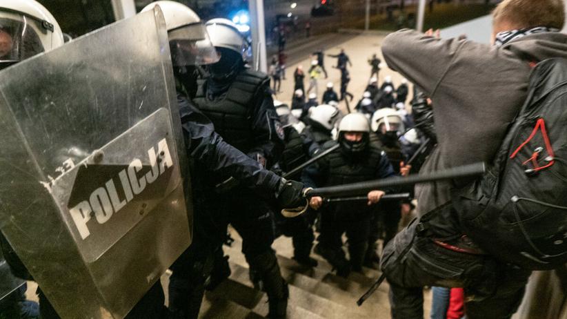 Policja na Marszu Niepodległości