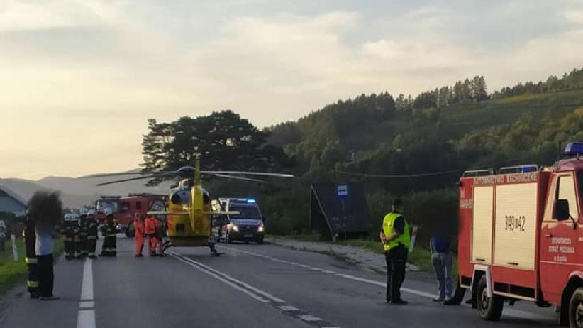 Wypadek w Maszkowicach