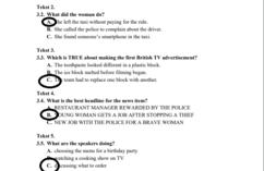 Matura z języka angielskiego - odpowiedzi. Strona 3