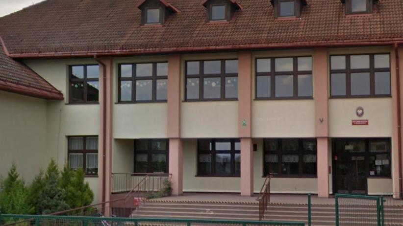 Szkoła w Mazańcowicach.