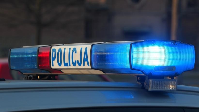 Wypadek policja