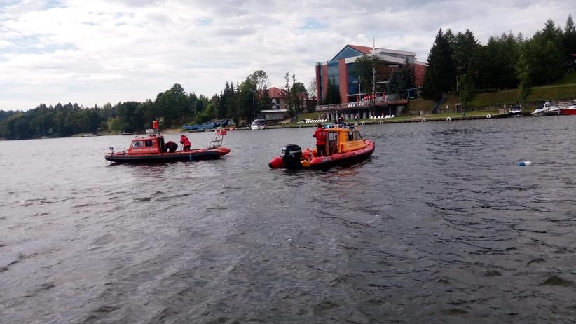 akcja ratunkowa na jeziorze Tałty