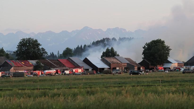 Nowa Biała. Ogromny pożar na Podhalu