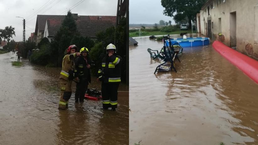 Powodzie i podtopienia, opolskie