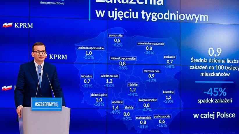 konferencja premiera i ministra zdrowia