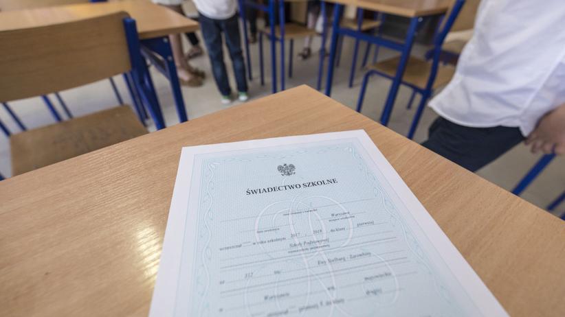 Świadectwo szkolne