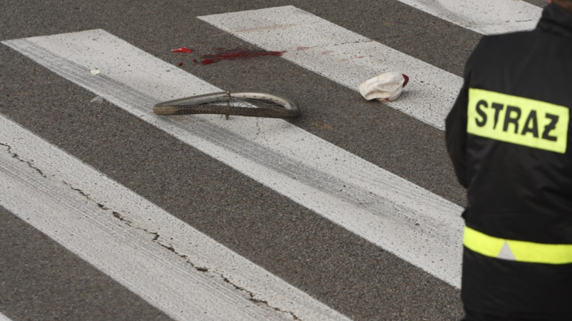 Samochód wjechał w 17-letnią rowerzystkę. Dziewczyna nie żyje