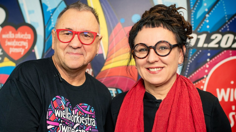 Olga Tokarczuk przekazała na WOŚP replikę medalu noblowskiego. Owsiak: to niesamowite