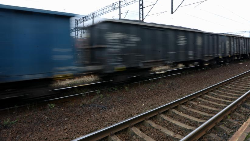 Wykolejony pociąg