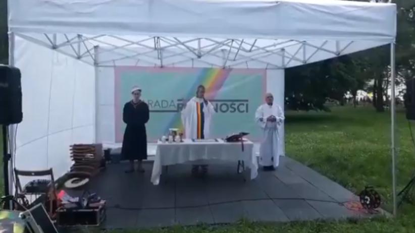 ''Tęczowa msza'' na Paradzie Równości to obraza uczuć religijnych? [SONDA]