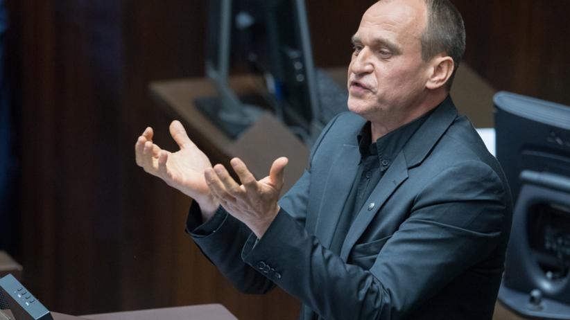 Kulisy posiedzenia Sejmu. Kukiz się wygadał: odór wódki, śmiechy, chichy