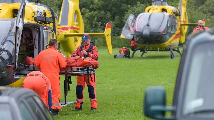 Operacje rannych po burzy w Tatrach. Odłamki skał w kościach, urazy czaszki