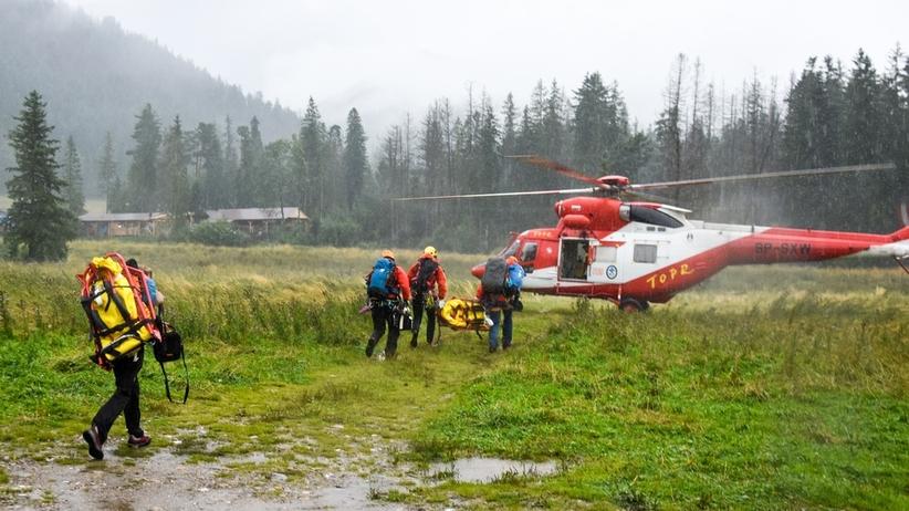 Pioruny uderzyły w Tatrach. Nie żyje 12-letnie dziecko