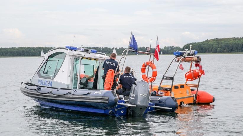 Piotr Woźniak-Starak poszukiwany. Policja wznowiła akcję na jeziorze Kisajno