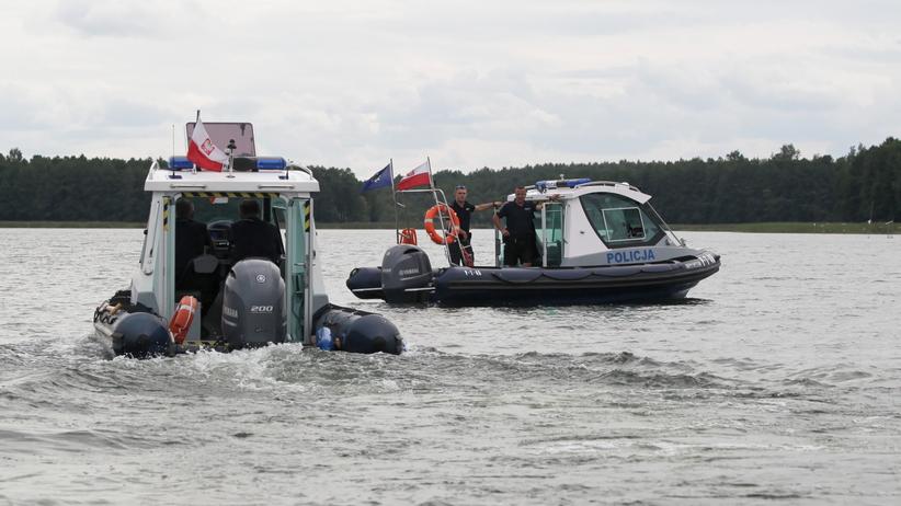 Świadek wypadku Woźniaka-Staraka: Łódź długo kręciła się w kółko