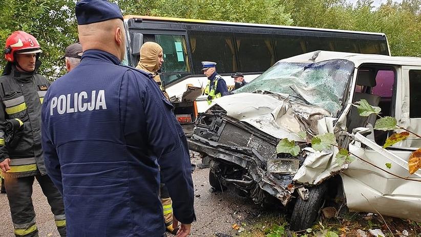 Podlaskie. Wypadek autobusu szkolnego. Dzieci jechały do szkoły w Radulach