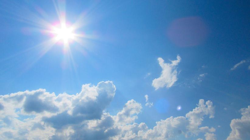 Zapowiada się słoneczna i ciepła sobota. Miejscami może zagrzmieć