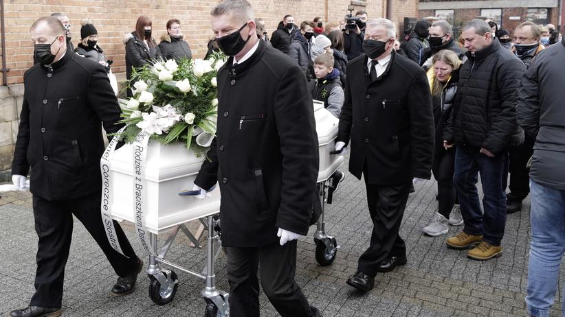 Pogrzeb 13-letniej Patrycji Pałoń