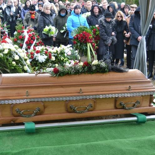 Pogrzeb 21-letniego Adama w Koninie