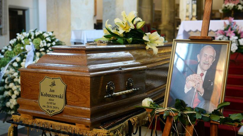 Jan Kobuszewski pogrzeb