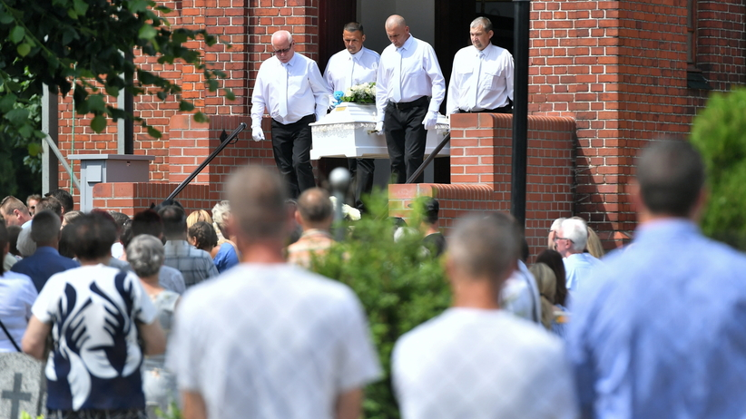 Pogrzeb Kristiny z Mrowin. Matka zamordowanej 10-latki: byłaś dla mnie darem