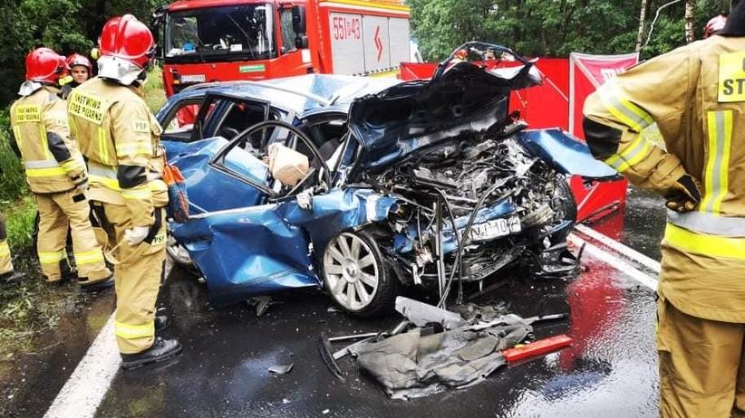 wypadek w Jamnicy koło Stalowej Woli