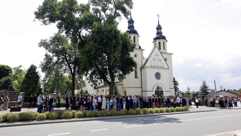 pogrzeb rodziny z Borowców