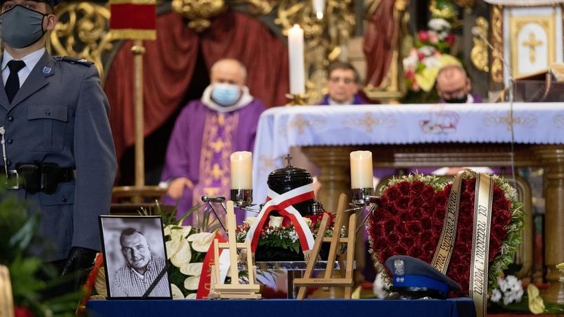 Pogrzeb policjanta Michała Kędzierskiego