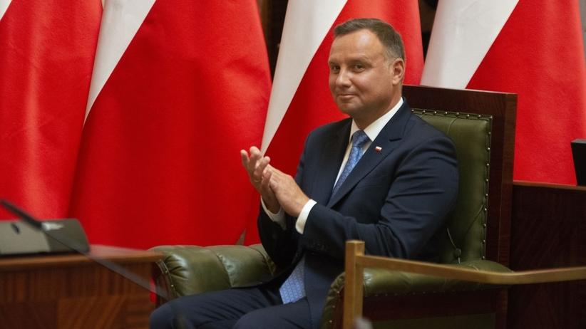 Andrzej Duda coraz lepiej oceniany. Sejm też - sondaż CBOS
