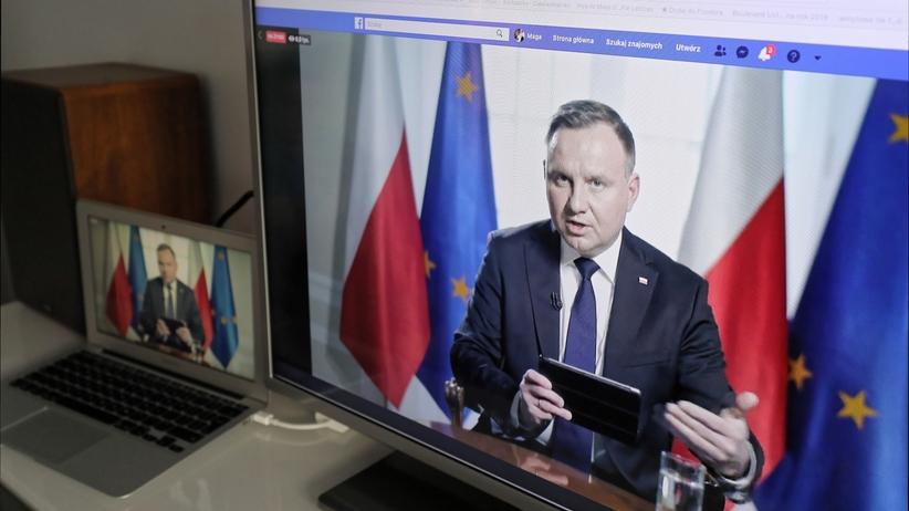 Andrzej Duda kieruje do TK przepisy ze specustawy ws. walki z koronawirusem